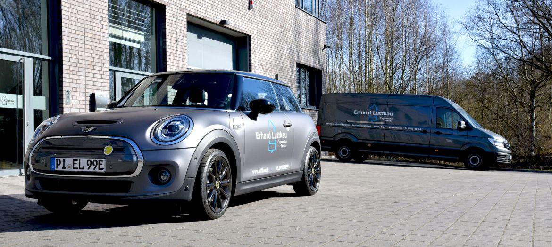 Flottenerweiterung: Wir begrüßen unser neues E-Fahrzeug in unserer Flotte